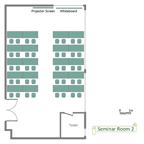 Seminar Room 2 Floor Plan